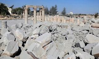 IS zerstört weiteren Tempel