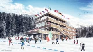 Emprima badigliada «Nordic House» a Lantsch