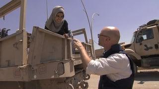 Unterwegs an der Front in West-Mossul