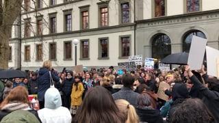 St. Galler Schüler streiken fürs Klima