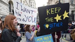 Über drei Millionen Briten wollen nochmals an die Urne