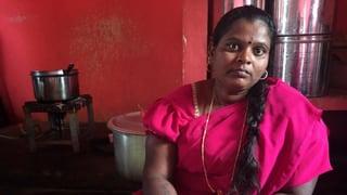 Frau Radhamma kämpft für ihre Rechte