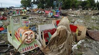 Regen erschwert Rettungsarbeiten massiv