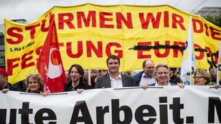 Ein friedlicher 1. Mai in Zürich - trotz Störversuchen