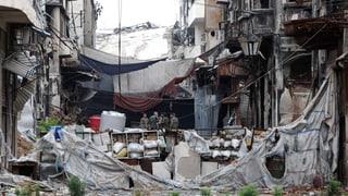 Dramatischer Hilferuf für notleidende Syrer