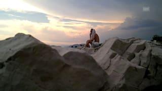 Tatum Rush trifft «Jean-Luc Godard» in Antibes