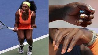 Style-Sieg für Williams: Das Tennis-Ass fährt die Krallen aus