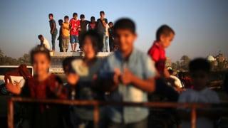 Symbolischer Nahost-Vertrag: Schüler schliessen Frieden