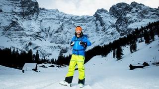 Nik Hartmann ist für «SRF bi de Lüt» neu auch im Winter unterwegs