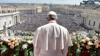 Papa Francestg: «Davantvart n'è betg in mir, là è l'orizont»