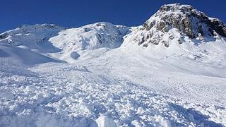 Tujetsch: Dunna (35) ferida grevamain tar accident en lavina