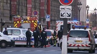 Soldat verhindert Macheten-Angriff vor dem Louvre