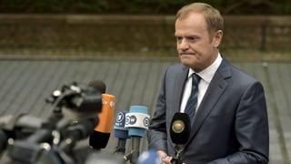 Donald Tusk warnt vor einem Scheitern der EU