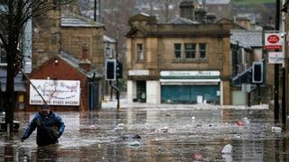 Heftige Überschwemmungen in Grossbritannien