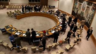 Sitzung des UNO-Sicherheitsrats endet ohne Ergebnis