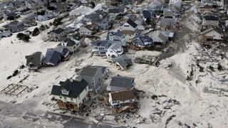 USA gedenken der Opfer von Wirbelsturm Sandy