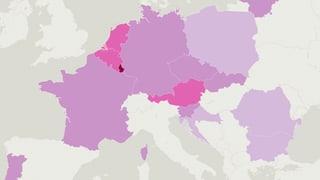 Diese EU-Länder sollen Asylsuchende übernehmen