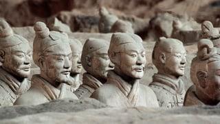 Zehn Terrakottakrieger aus China werden in Bern ausgestellt