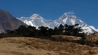 Ein nie gesehener Blick auf den höchsten Berg der Welt