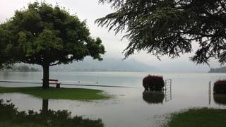 Ihre Bilder vom Hochwasser in der Schweiz