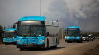 Waldbrand treibt 90'000 Kanadier in die Flucht