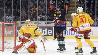 Bern mit einem Schaulaufen in den Final