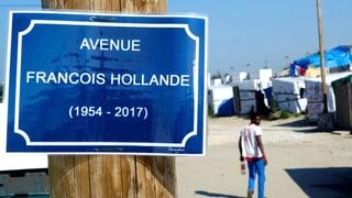 Hollande verspricht Schliessung des Flüchtlingslagers von Calais