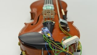 Diese Geige sagt, wenn du sie falsch spielst (Artikel enthält Audio)