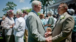 Obama will die Homo-Ehe zulassen