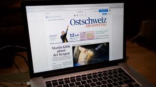 Ost- und Zentralschweiz verlieren ihre Sonntagszeitung