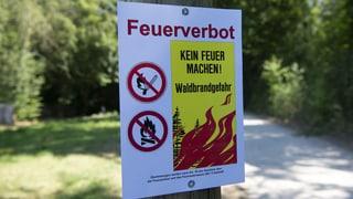 Kanton Aargau lockert Feuerverbot