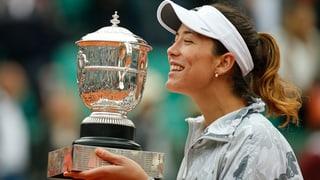 Garbiñe Muguruza gudogna French Open