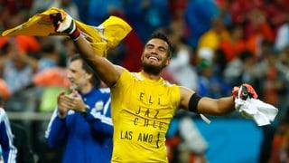 Penaltyheld Romero: «Den Moment geniessen»