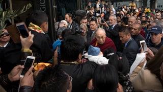 Il Dalai Lama a Berna