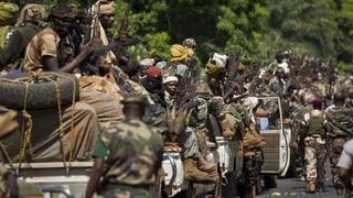 Gestürzter Präsident Zentralafrikas entkommt nach Kamerun