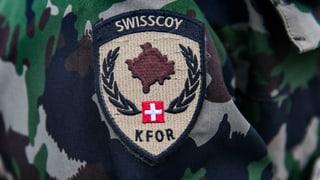 Parlament verlängert Swisscoy-Einsatz