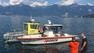 74-Jähriger ertrinkt am Walliser Genfersee-Ufer