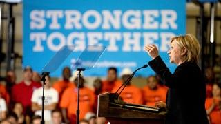Clinton stellt zehn Millionen neue Arbeitsplätze in Aussicht