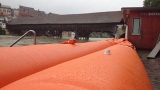 Schutz für den Hochwasserschutz in Olten