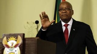 Jacob Zuma gibt sein Amt per sofort ab