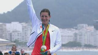 Nicola Spirig holt Triathlon-Silber (Artikel enthält Video)