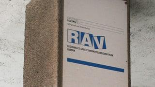 Zahl der Arbeitslosen in der Zentralschweiz steigt