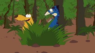 Video «Ralph und die Dinosaurier: Beipiaosaurus (2/26)» abspielen