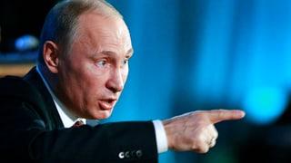«Putins Säbelrasseln zeigt Wirkung»