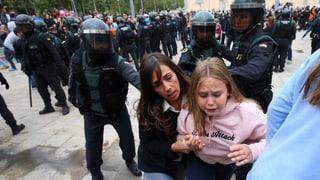 Nationalpolizei verletzt mindestens 38 Menschen