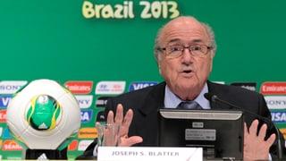 «Fifa-Präsident kritisiert Brasilien zu Recht»