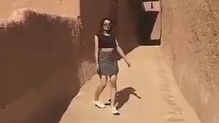 Frau in Saudi-Arabien nach Minirock-Video wieder frei