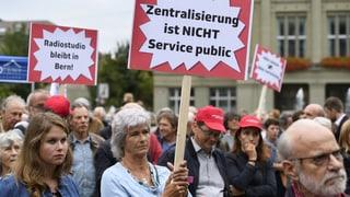 Gegen die Zentralisierung der Medien in Zürich