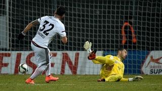 So gewann Vaduz zum Auftakt der Rückrunde in Lugano