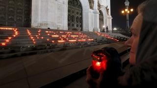 Russland trauert um Absturz-Opfer